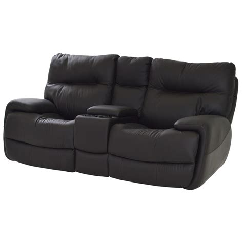 el dorado furniture leather sofas evian gray power motion leather sofa w console el dorado