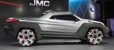 jmc yuhu concept unveiled at the 2015 shanghai motor show motoroids