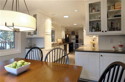 expanding a galley kitchen a galley kitchen transformation spectrum homes portland 7102