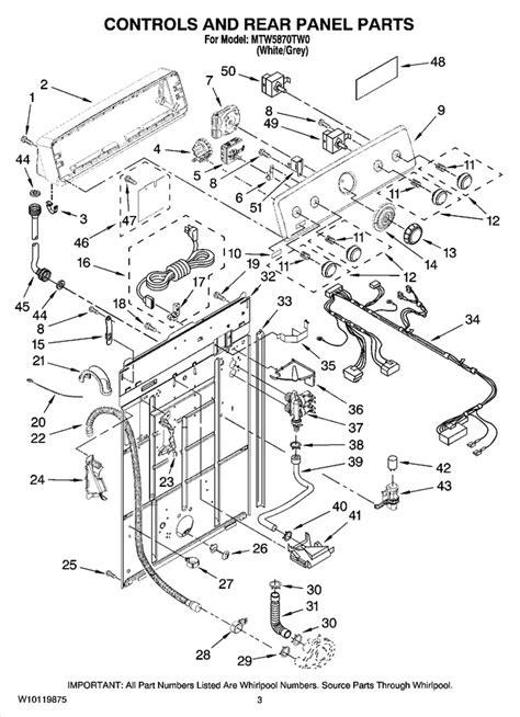 Mtwtw Automatic Appliance Parts