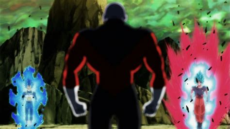 dragon ball super jiren affronta goku  vegeta  questa