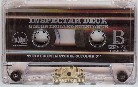 inspectah deck uncontrolled substance zip