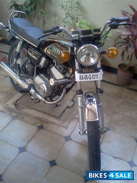 model yamaha rx   sale  bangalore id  black gold  colour bikessale