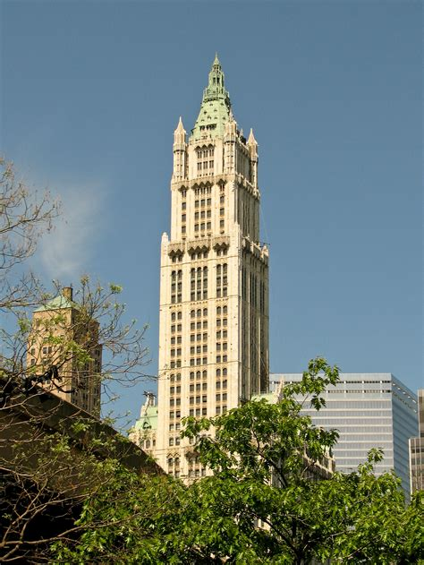 york city  woolworth building
