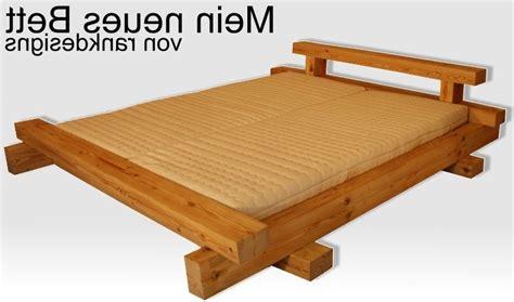 futonbett selber bauen pin bett selbst bauen on besser schlafen