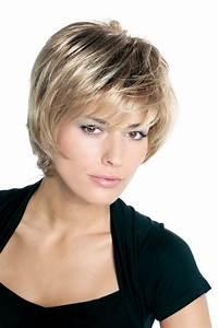 Coiffure Mariage Cheveux Courts Photos : modele coiffure mi court ~ Melissatoandfro.com Idées de Décoration