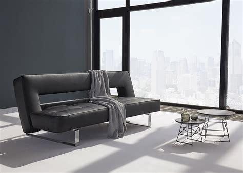 canape simili cuir canapé en simili cuir avec piètement chromé ultra design
