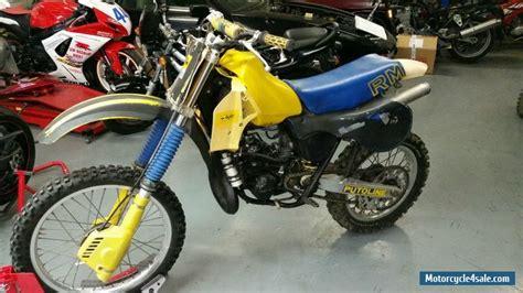 Suzuki 250 Motorcycle For Sale by 1982 Suzuki Rm 250 For Sale In United Kingdom