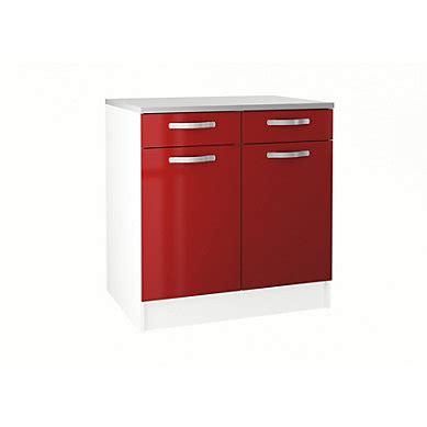 meuble cuisine bas 2 portes 2 tiroirs meuble de cuisine en kit pas cher but fr