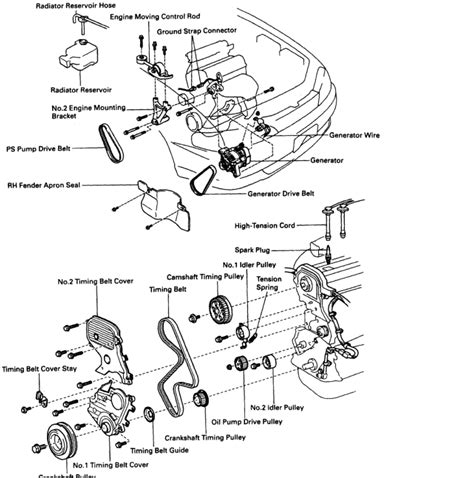 Timing Diagram For Toyota Camry Auto Parts