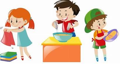 Chores Clipart Chore Responsibility Cartoon Responsible Skills