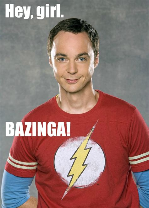 Sheldon Meme - bazinga free big bang theory printables amy latta creations