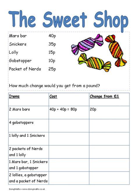 money worksheets worksheets