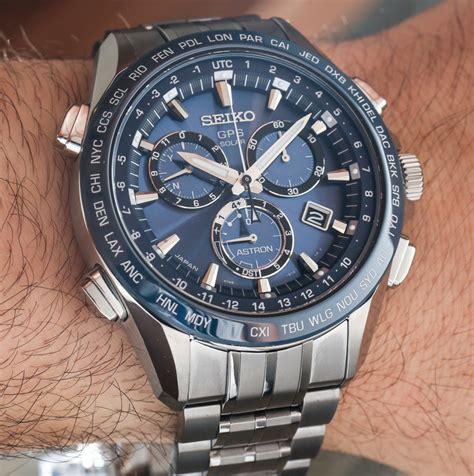 Seiko Astron Gps Solar Chronograph Watch Handson