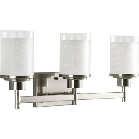Bathroom Vanity Light Fixtures Brushed Nickel by Light Vanity Fixture Brushed Nickel Versatile Bathroom