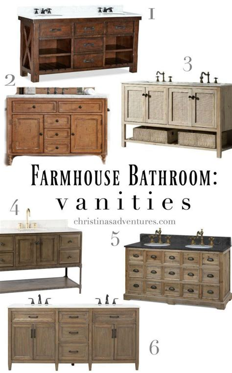 Best Place To Shop For Bathroom Vanities by The Best Places To Buy Rustic Farmhouse Bathroom Vanities