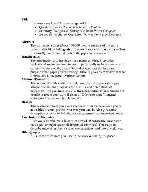 Term Paper Parts Perfect Personal Statement Sample Research Paper