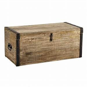 Banc De Rangement Maison Du Monde : coffre en bois maison du monde avie home ~ Premium-room.com Idées de Décoration