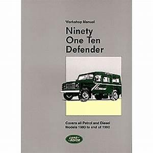 Land Rover 90 110 Defender Repair Shop Manual 1983 1984