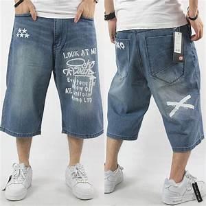 2017 Wholesale Mens Denim Jeans Capri Short For Man New Summer Hiphop Designer Brand Cotton ...