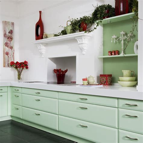 cabinets  kitchen green kitchen cabinets pictures
