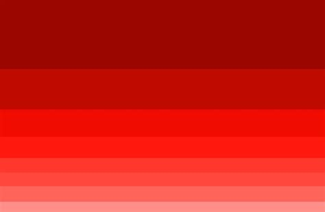 different color reds color in web design infographics monsterpost