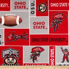 sewing images fleece fabric ohio state university fabric material