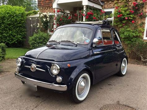 Ebay Fiat by Ebay 1965 Fiat 500 D Retro To Go