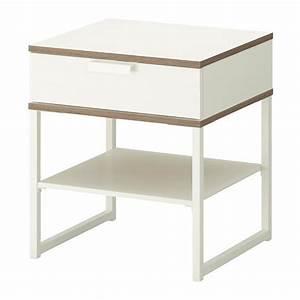 Table Chevet Blanc : trysil table chevet ikea ~ Teatrodelosmanantiales.com Idées de Décoration