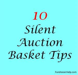 Free Template For Silent Auction Bid Sheets Silent Auction Basket Tips