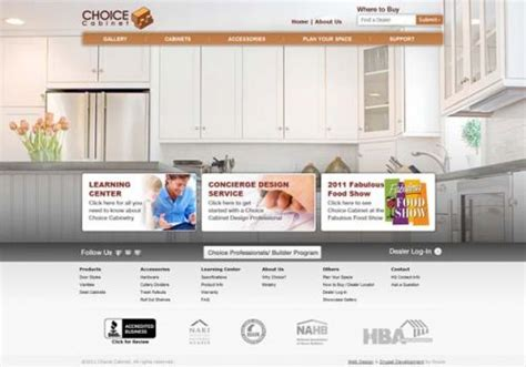 Choice Cabinet Reviews - cynexis media client reviews clutch co