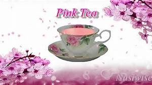 Pink tea in 10 minutes - YouTube