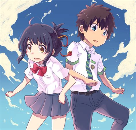 Anime Your Name Kimi No Na Wa Link 2016 Random Thoughts Kimi No Na Wa Your Name Image 2036626 Zerochan
