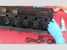 Part 2 Replacing a BMW 6cylinder valve cover gasket