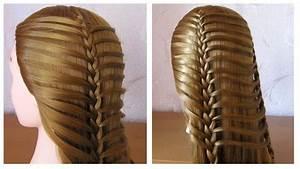 Coiffure Tresse Facile Cheveux Mi Long : coiffure facile pour tous les jours tresse simple cheveux ~ Melissatoandfro.com Idées de Décoration