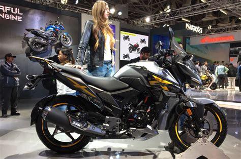Auto Expo 2018 Honda Xblade Adventure Bike Showcased Is