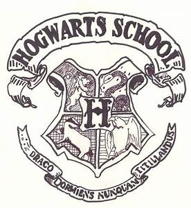 Hogwarts Crest Coloring Page  imgkid   The Image Kid Has It!