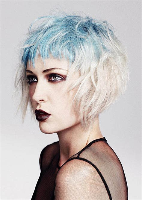 Gothic Bob The Latest Trends In Womens Hairstyles And