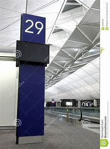 Boarding Gate In Hong Kong Airport Stock Photography ...