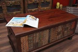 Möbel Aus Indien : couchtisch truhe kolonial truhentisch massivholz indien 120x60x45 ~ Sanjose-hotels-ca.com Haus und Dekorationen