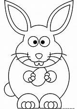 Easter Bunny Coloring Printable Sheet Sheets sketch template