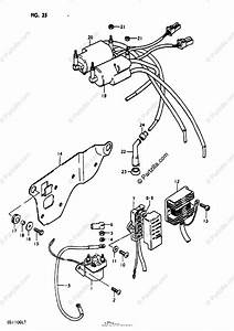 Suzuki Motorcycle 1980 Oem Parts Diagram For Electrical