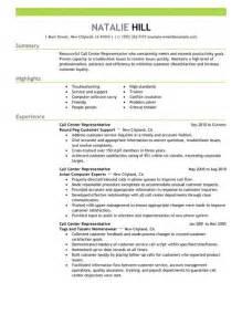 resumes for customer service representative call center call center representative resume exle customer service sle resumes livecareer