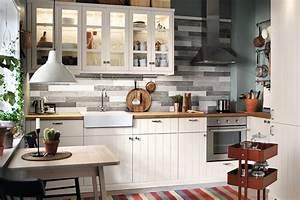 Cuisines Ikea 2018 : une cuisine fifties ~ Nature-et-papiers.com Idées de Décoration