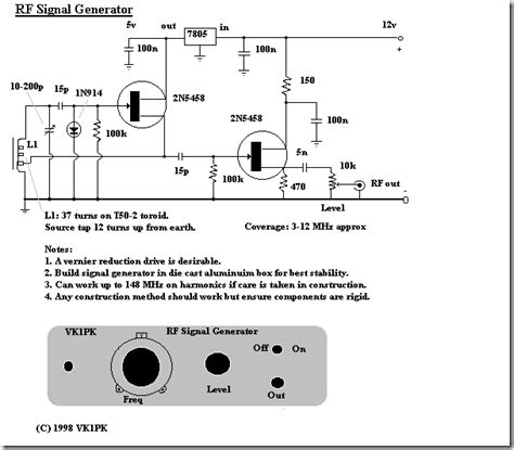 Radio Circuits Blog Signal Generator