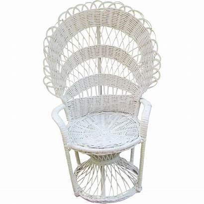Doll Wicker Chair Furniture Peacock