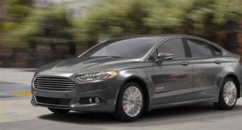2015 Ford Fusion Revealed With Few Changes