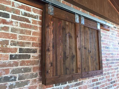 Barn Door Style Outdoor Tv Remodeling Contractor