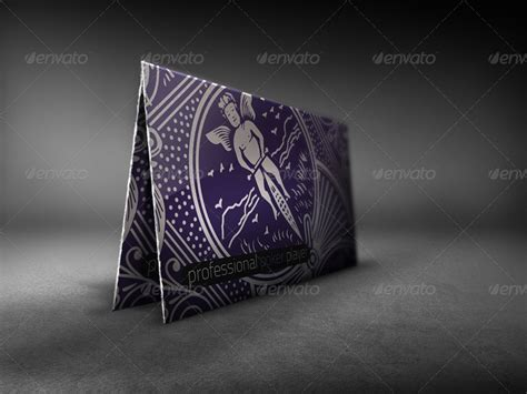 Magician And Poker Player Business Card By Time4magic