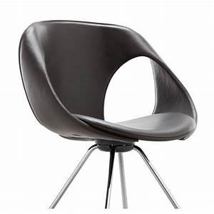 Chaise Design Metal : up chair 907 21 chaise design cuir m tal tonon ~ Teatrodelosmanantiales.com Idées de Décoration